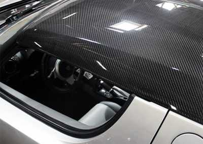 Tesla Roadster Carbon Fiber Targa Top